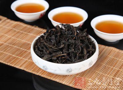 大红袍茶叶中所含有的咖啡碱可以兴奋人的中枢神经图片