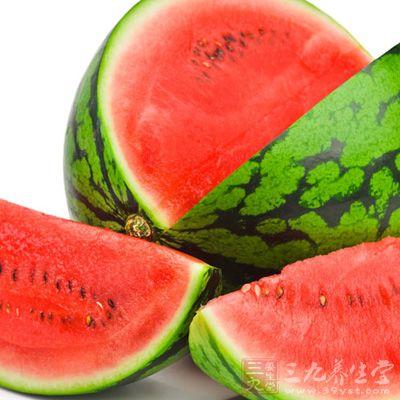 西瓜也是夏天不得不提的降火佳果