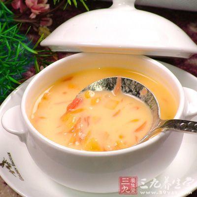 误区二:多吃,喝浓汤