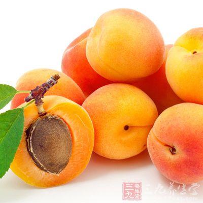 杏子有利于头发生长
