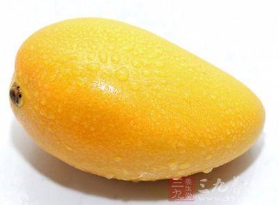 芒果中含有丰富的维生素a