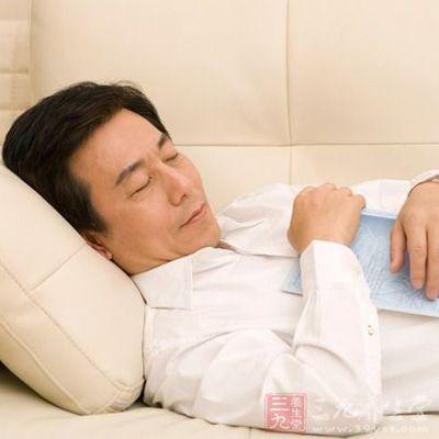 中年人不可带着压力睡觉