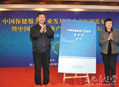 2015版中国健康产业蓝皮书发布