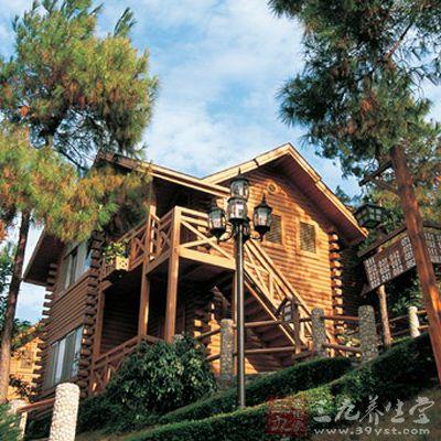 美式木屋窗户图片