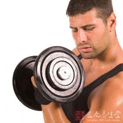 哑铃健身计划 男人居家健身好方法(11)
