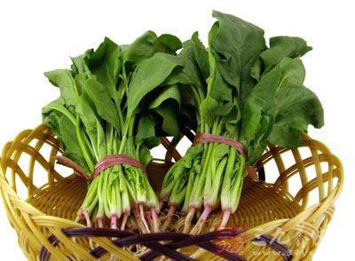 不可与菠菜同食,二者同食有滑肠作用,易引起腹泻
