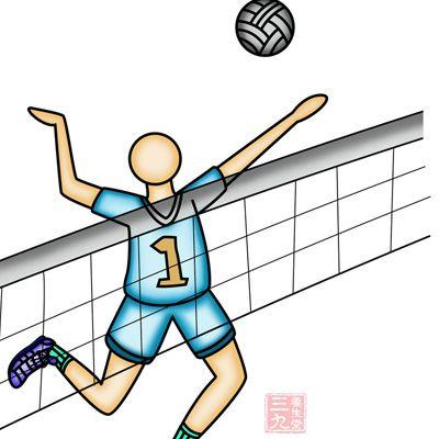 排球运动介绍排球运动由两队各六名选手组成,但是现在增设了自由人,该