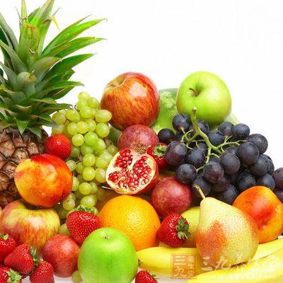 多吃水果和蔬菜