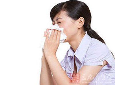 鼻塞头晕的可爱图片