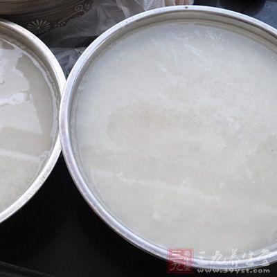 淘糯米水一碗