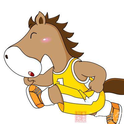 马跟兔子刚刚相反,它好动,不好静,而且喜出风头,巧于交际