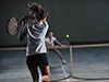 网球教学之截注意了击球