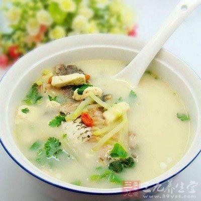粉葛生鱼汤