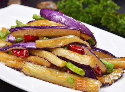 红烧茄子美食爽口的红烧海鲜v茄子美味吉隆坡茄子图片