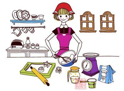 煮饭过程矢量图