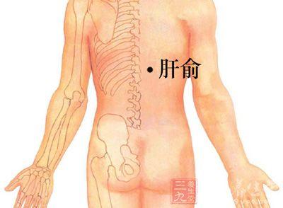 患者可以用双手拇指按患者的肝俞穴和脾俞穴,每穴点按1-2分钟,直到出现酸胀感即可