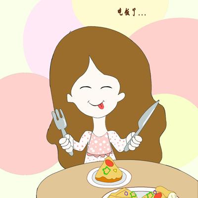 吃饭要细嚼慢咽,做到食之不语