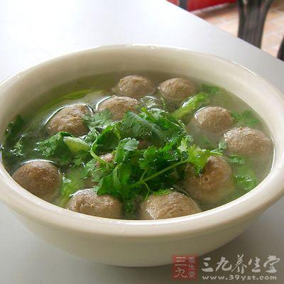 醋椒丸子汤如何做好吃