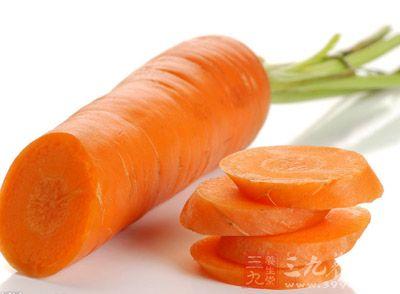 胡萝卜可以降低卵巢癌的发病发病率
