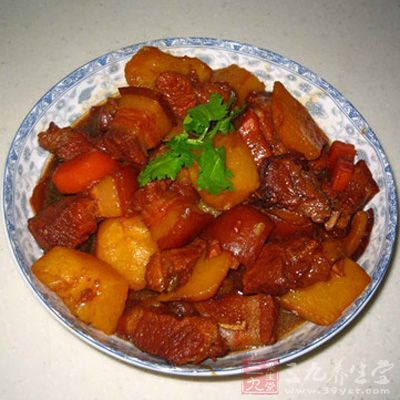 红烧肉炖土豆 怎么做好吃