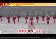 广场舞教学 红歌风广场舞青春女兵教学