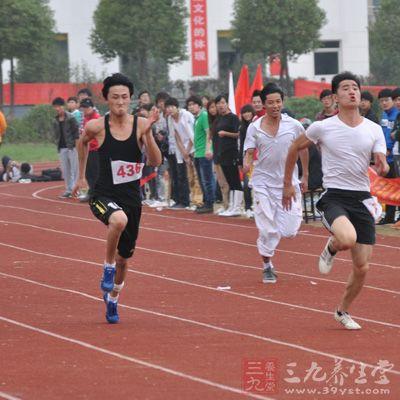 冲刺-跑步-男运动员