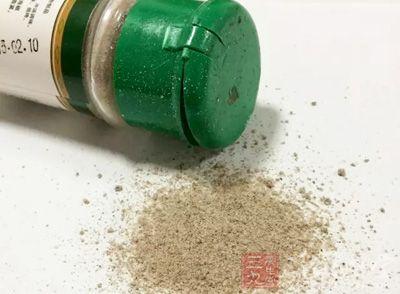 药物:黑胡椒适量