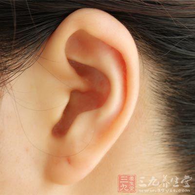 纹耳朵后小清新图案