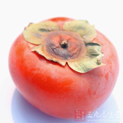 霜降吃点柿子