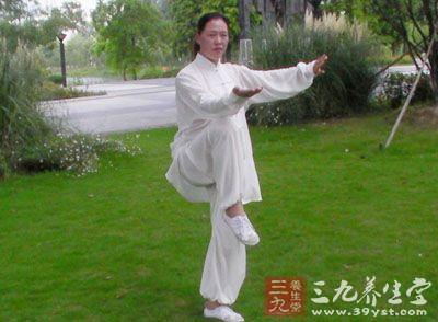 这是杨式小架太极拳的特点