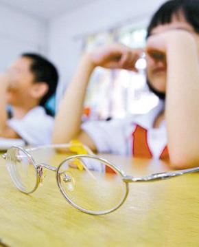 小学生近视率超五成