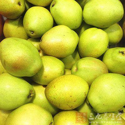有些人群不宜食用梨