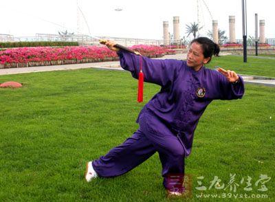 杨式太极拳 冬季补水排毒健身小运动