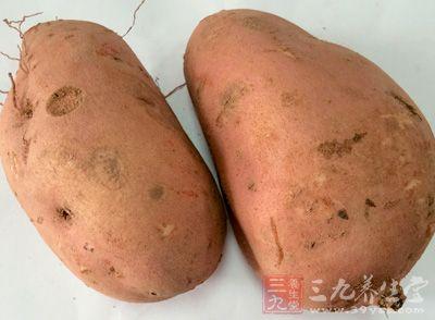 每100克鲜红薯仅含0.2克脂肪