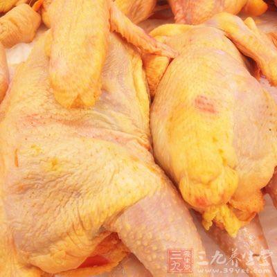 鸡肉肉质细嫩,滋味鲜美,并富有营养