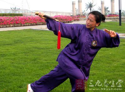 杨式太极拳 女人爱做这运动打造好气质