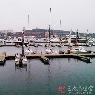 香港是一个优良的深水港
