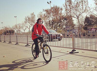 骑车对膝盖是一种非常理想的锻炼