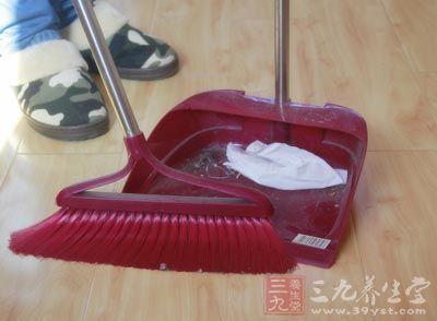 减少家中污染物
