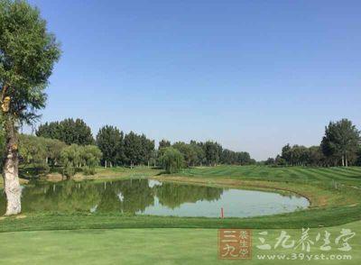 高尔夫是一项修养身心、强身健体的球类运动