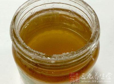 芦荟+蜂蜜祛斑