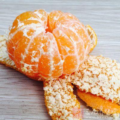 吃蒸橘子还有一个好处那就是可以和胃,健脾