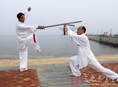 杨式太极拳 杨式太极拳技击与养生训练