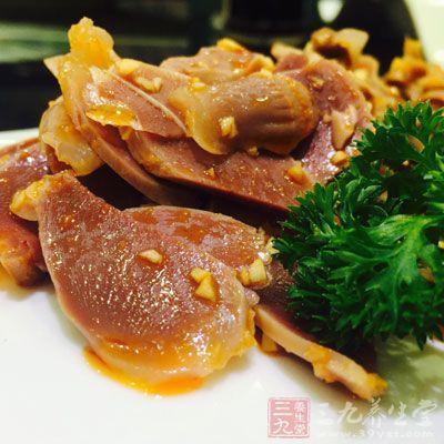 猪肝等动物内脏也对增加豆腐的钙吸收有