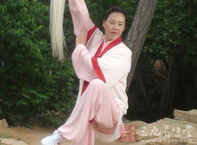 杨式太极拳 求静是练杨式太极拳的精髓