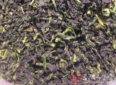 绿茶50克,龙胆草30克