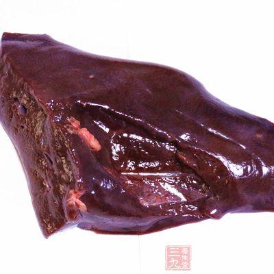 动物肝脏富含丰富的维生素a