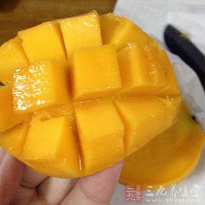 吃芒果也可以增加人体的抵抗力