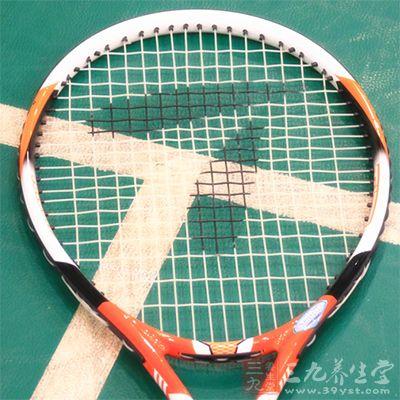 你一定要记住打网球是需要有浓厚的兴趣