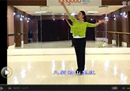 糖豆广场舞又见山里红正面教学视频